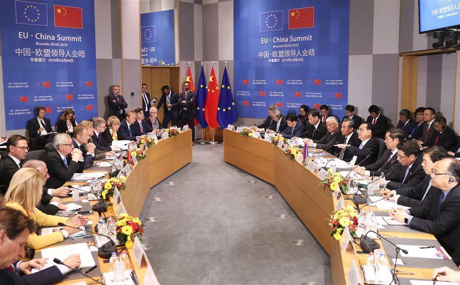 چین و اتحادیه اروپا بر چند جانبه گرایی تاکید کردند
