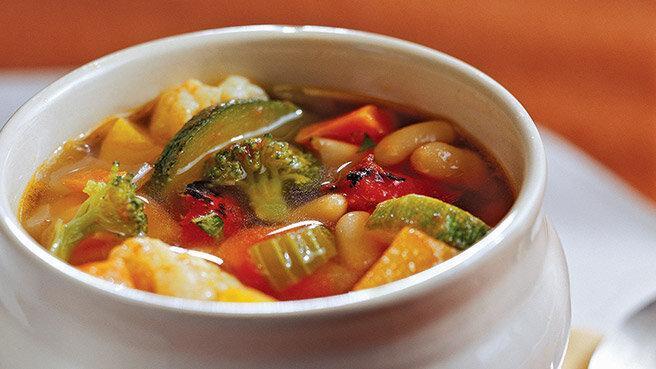 سوپ سالم بخورید
