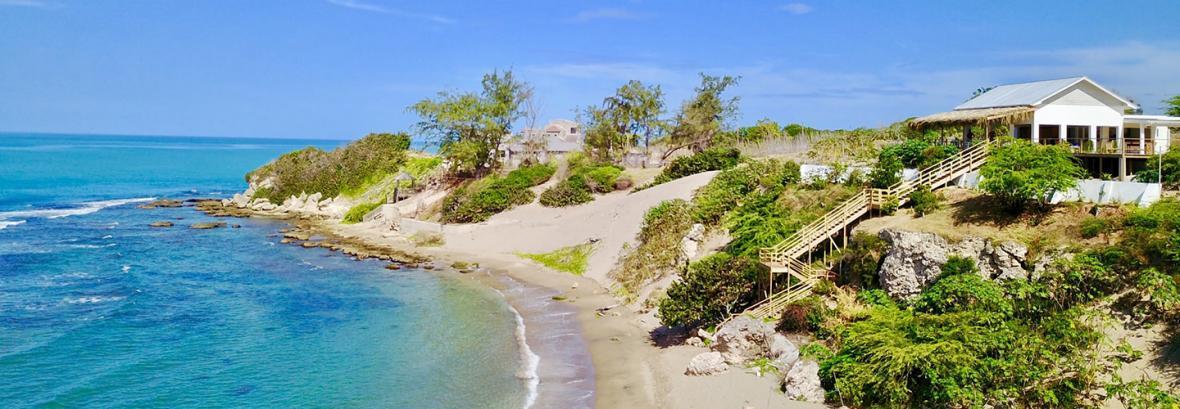 جواهری در دریای کاراییب ، تصاویری از ساحل زیبای جاماییکا جواهری در دریای کاراییب ، تصاویری از ساحل زیبای جاماییکا