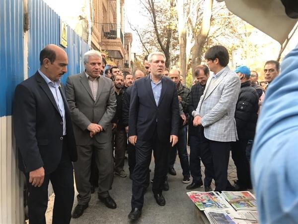 رئیس سازمان میراث فرهنگی خبر داد درخواست توقف ساخت و ساز در حریم کاخ گلستان از دادستان تهران
