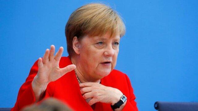 مرکل: آلمان برای بریگزیت بدون توافق آمادگی دارد