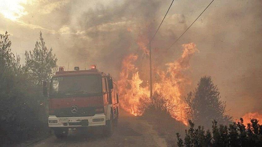 عملیات داوطلبانه برای مهار آتش سوزی های طبیعی در اندونزی