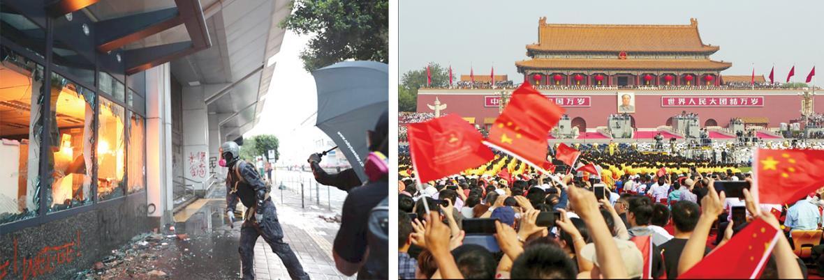 هلهله در پکن، خشم در هنگ کنگ