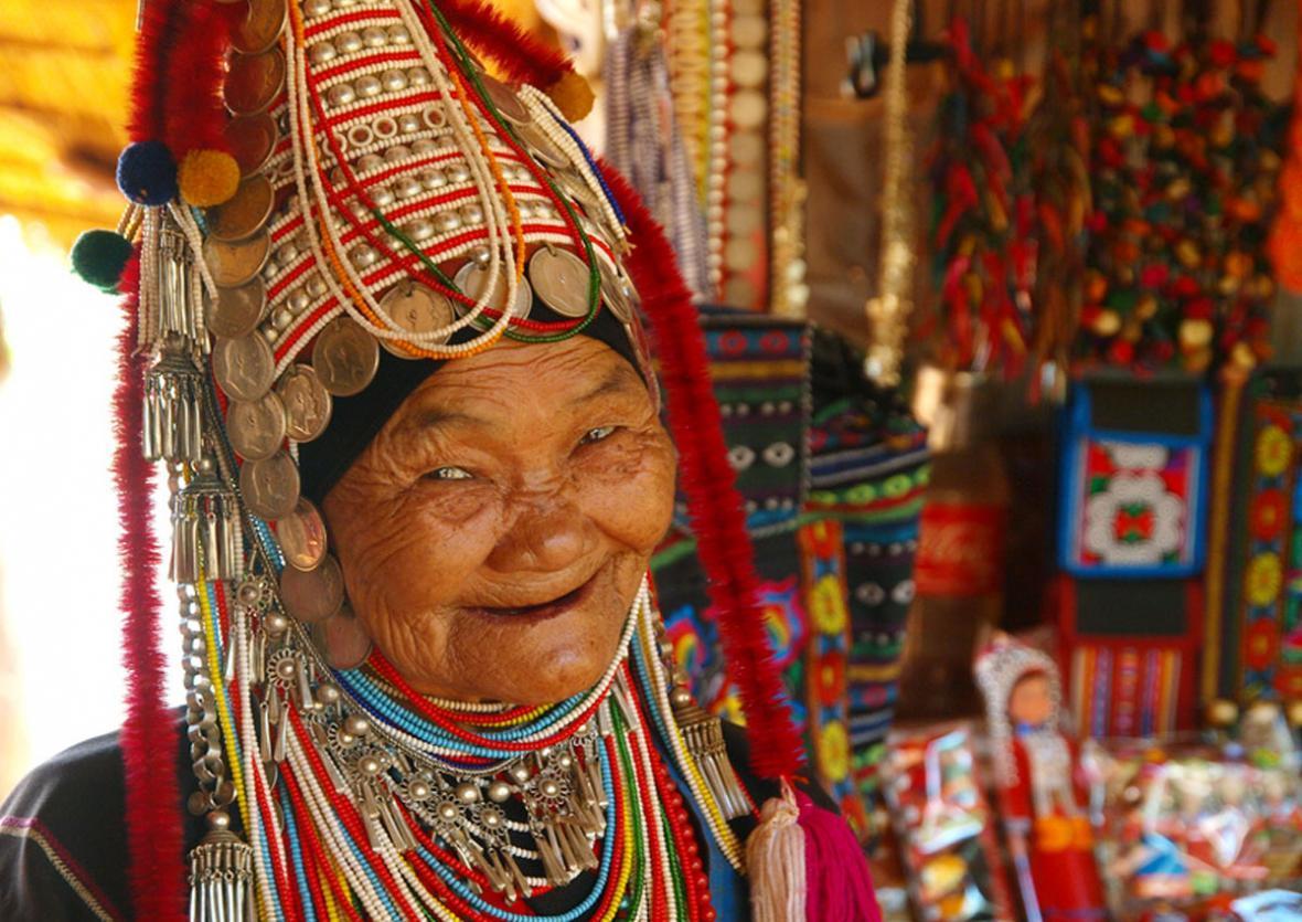 این قبایل عجیب و غریب تایلند را حتما ببینید (عکس)