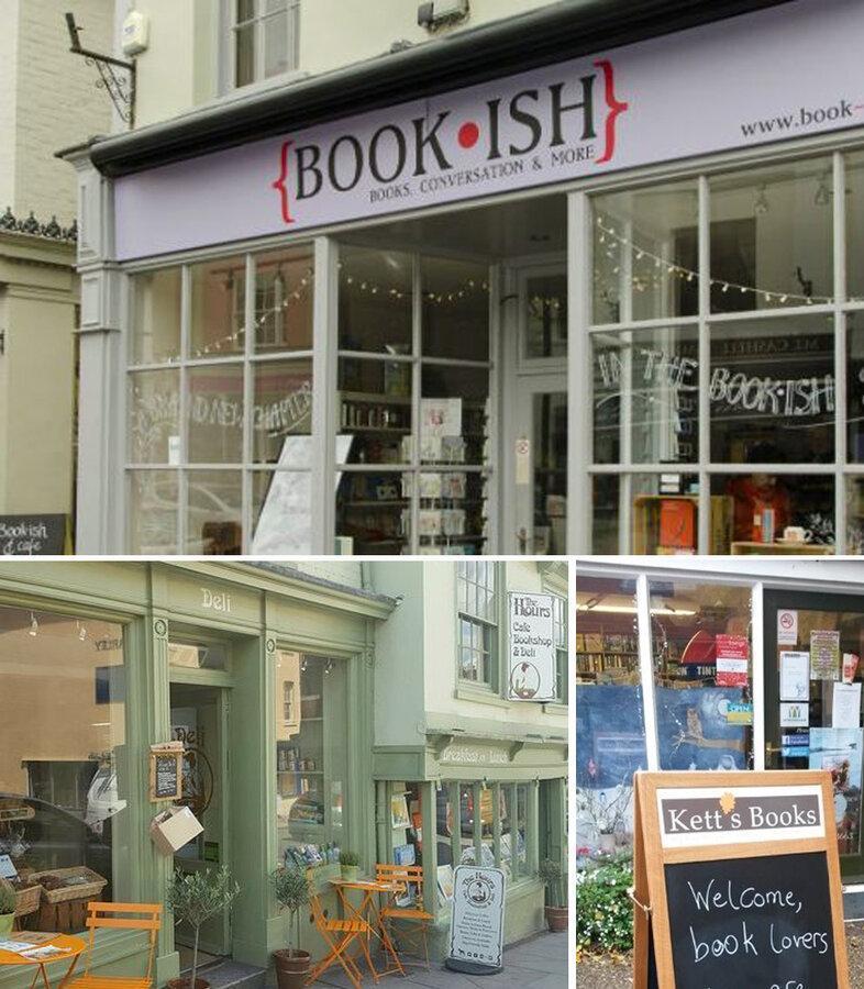 نامزدهای جایزه بهترین کتابفروشی کوچک بریتانیا