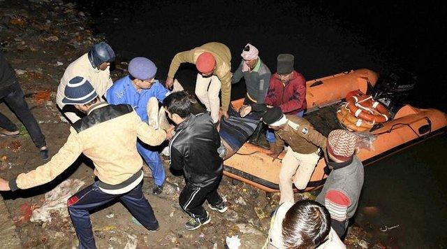 واژگونی مرگبار قایقی در مرکز هند