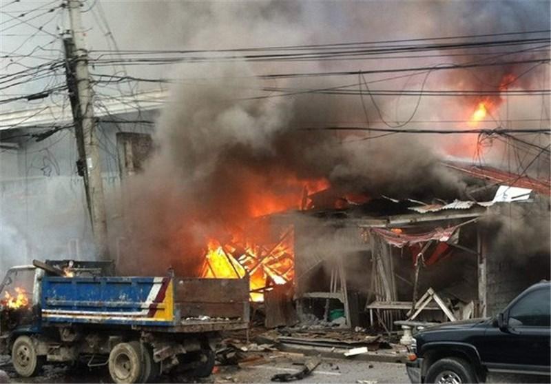 افزایش تلفات انفجار مهیب جنوب فیلیپین به 8 کشته