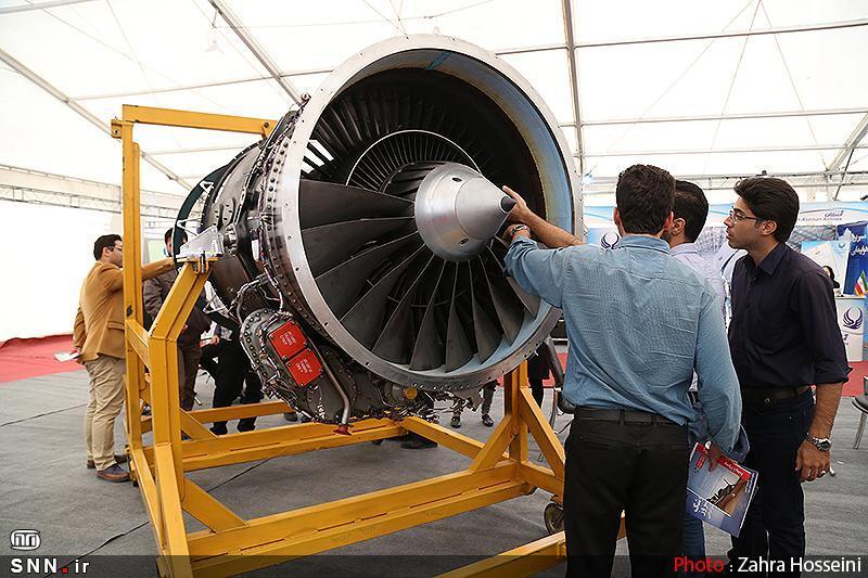 دستاورد های هوایی و فضایی ایران ساخت در هند به نمایش در می آید