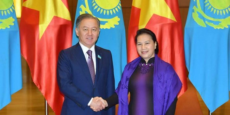 توافق قزاقستان و ویتنام در زمینه توسعه همکاری پارلمانی
