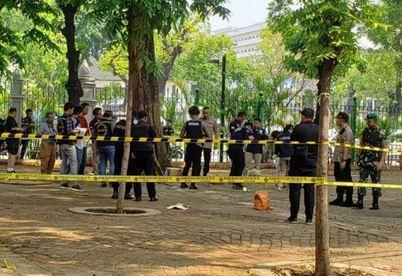 انفجار در نزدیک کاخ ریاست جمهوری اندونزی