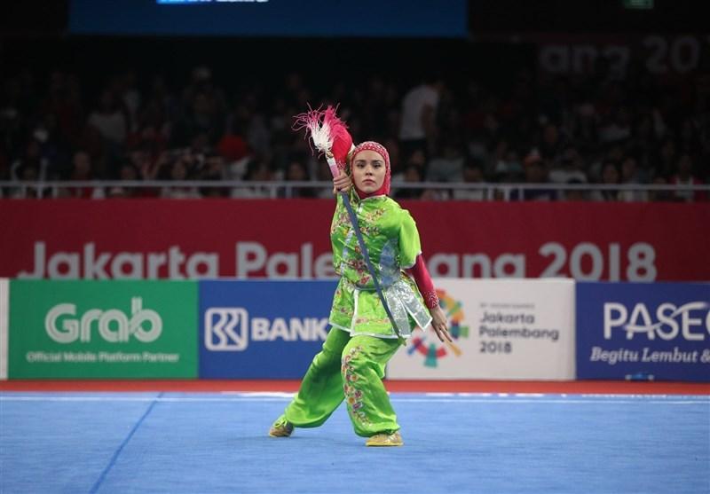 ووشو قهرمانی دنیا، زهرا کیانی به مدال برنز رسید