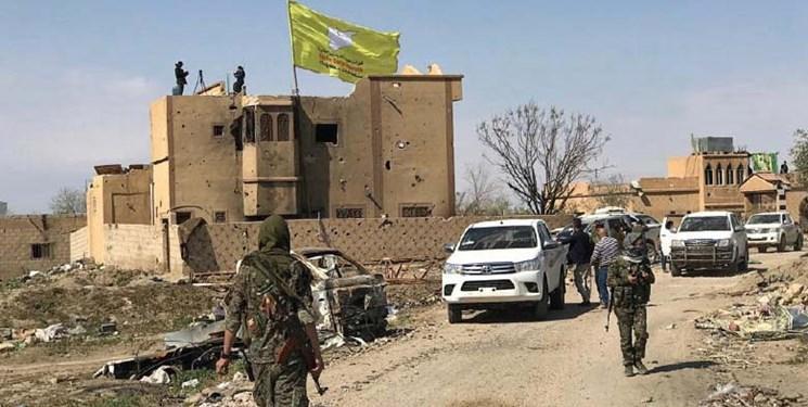 خروج شبه نظامیان کُرد از الدرباسیه و عامودا در مرز سوریه و ترکیه