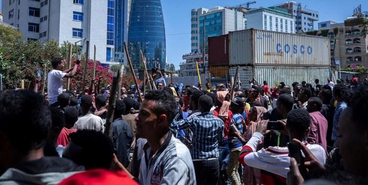 کشته شدن 67 نفر در اعتراضات اتیوپی