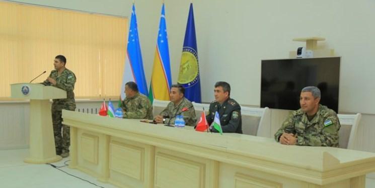 آموزش نظامیان ازبکستان توسط کارشناسان ترکیه