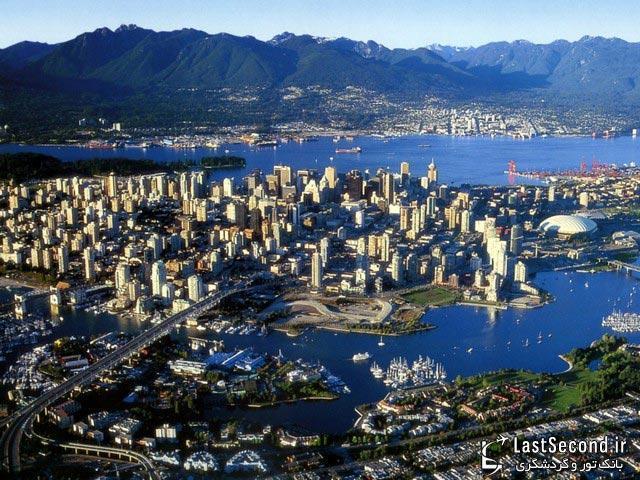 زیبا ترین شهرهای جهان : ونکوور، کانادا