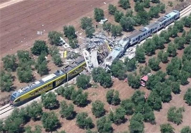 آخرین اخبار از برخورد دو قطار مسافربری در ایتالیا