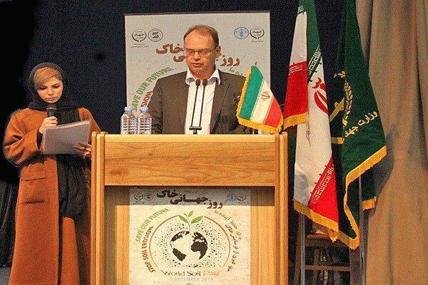 آمادگی فائو برای یاری به ایران در زمینه مدیریت منابع خاک