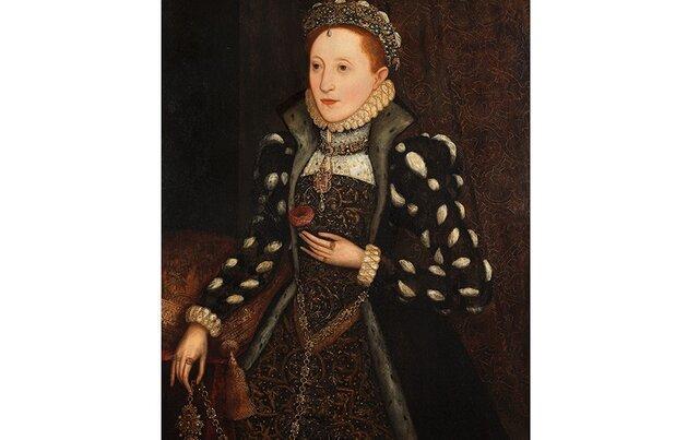 رکوردشکنی پرتره ملکه الیزابت اول