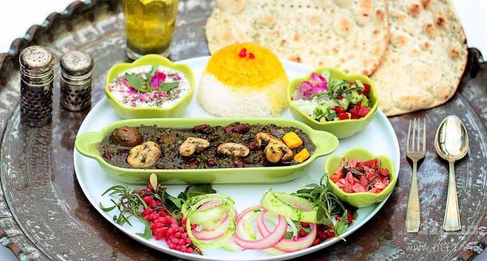 9 رستوران گیاهی تهران برای گردشگران وگان