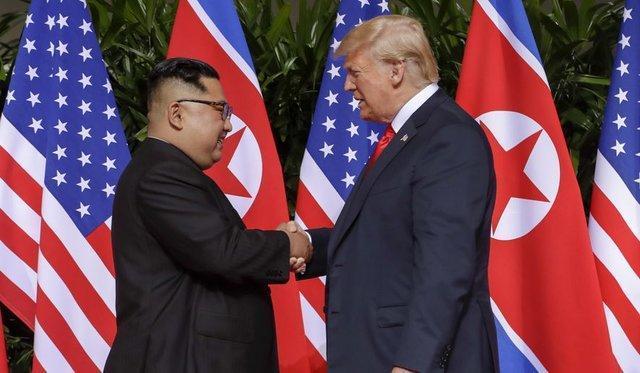 دیدار نمایندگان ویژه آمریکا و کره شمالی برای زمینه سازی دیدار ترامپ و اون