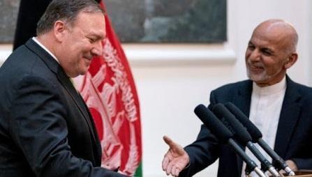 هشدار آمریکا به اشرف غنی و عبدالله عبدالله، احتمال قطع یاری های بین المللی