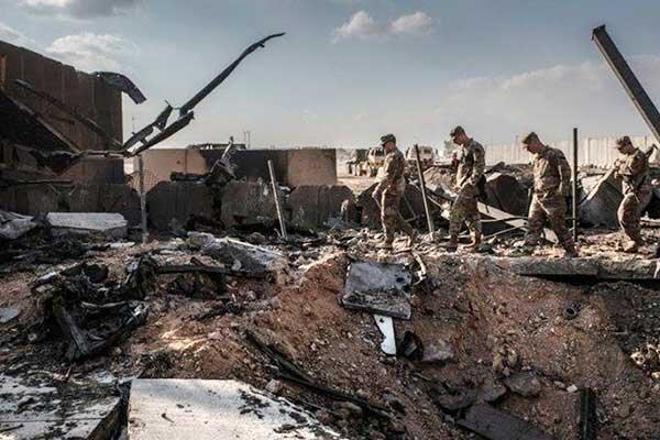 اقدام جدید آمریکا برای سربازان مجروح شده در حملات موشکی ایران