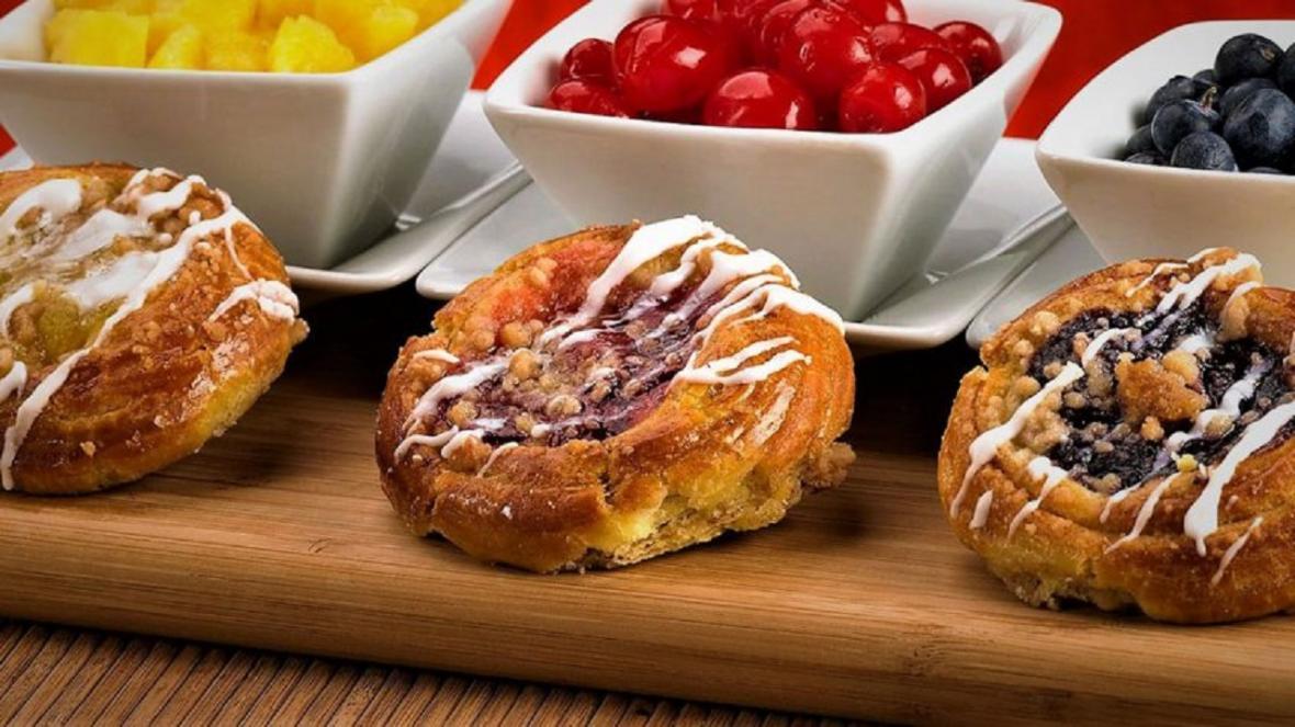 طرز تهیه شیرینی دانمارکی در منزل