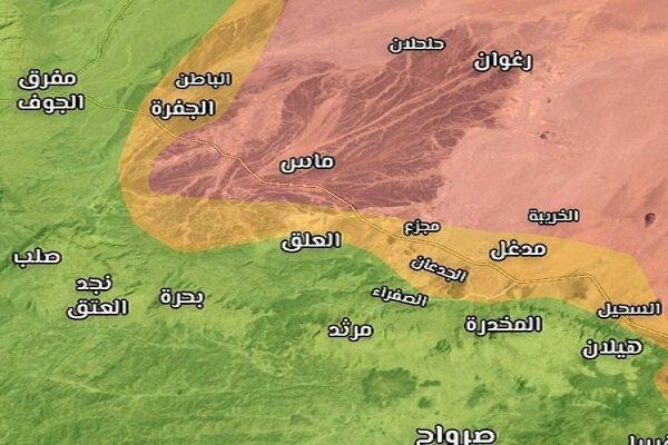 2 منطقه الجفره و الباطن فتح شد، کشته و زخمی شدن دهها مزدور