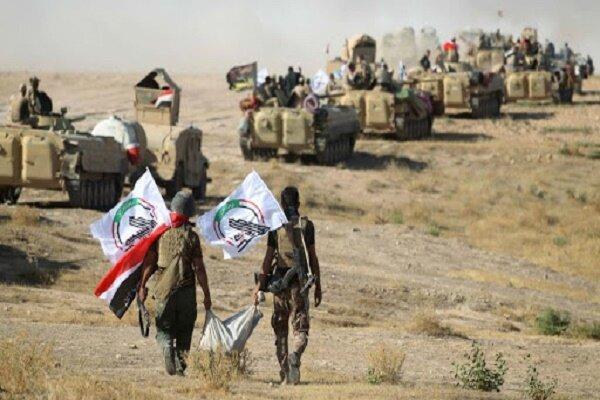حشد شعبی یورش داعش به میادین نفتی در دیالی را ناکام گذاشت