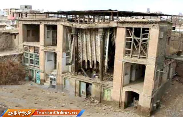 اتمام طرح مطالعاتی بازسازی خانه حاتمی بروجرد