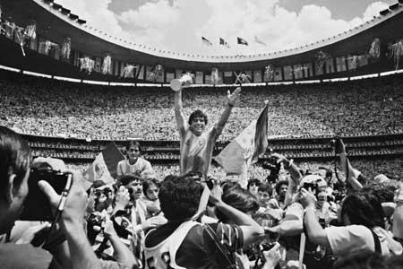ادای احترام فوتبال ایران به مارادونا