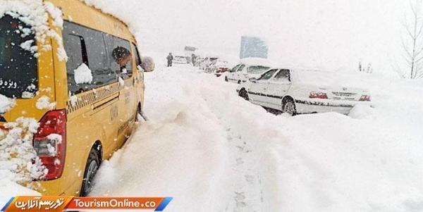 مسدودشدن فصلی 9 جاده در کشور