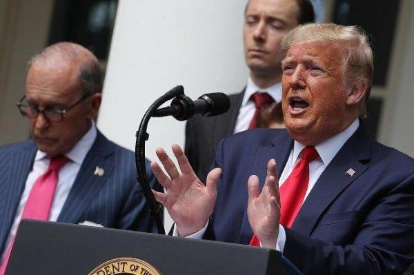خبرنگاران اشک تمساح ترامپ برای بیکاران
