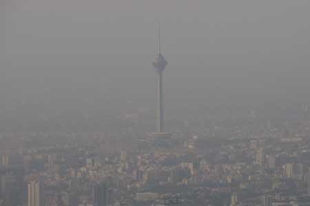 آسمانی غبارآلود در کلانشهرهای کشور تا پنج روز آینده