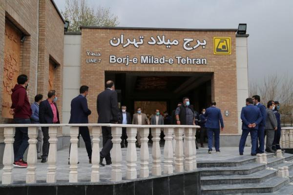 ایستگاه برج میلاد کامل ترین ایستگاه مترو ایران ، محمد: 50 درصد خطوط مترو توسط قرارگاه خاتم ساخته می گردد
