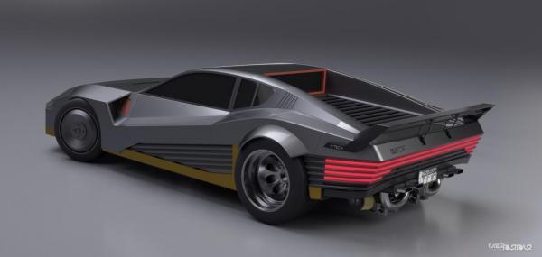 دیدگاه طراح سابق بی ام و، فراری و مک لارن در خصوص خودروهای Cyberpunk 2077