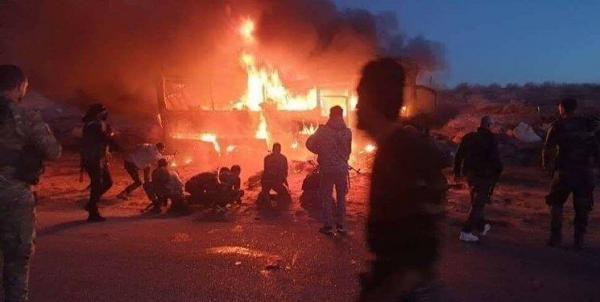 کشته شدن 6 غیرنظامی در حمله تروریستی در سوریه