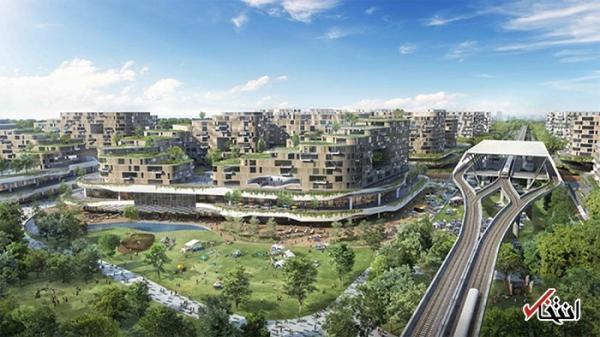 شهر هوشمند سنگاپور با 42 هزار خانه ساخته می گردد