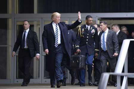 ترامپ کیف هسته ای را به بایدن نمی دهد!