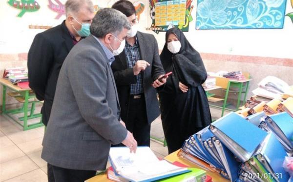 بازدید مدیر کل امور شاهد از مدارس شاهد تهران در اولین روز از دهه مبارک فجر