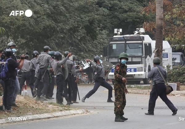 تلفات اعتراضات خونین در میانمار به 459 نفر رسید