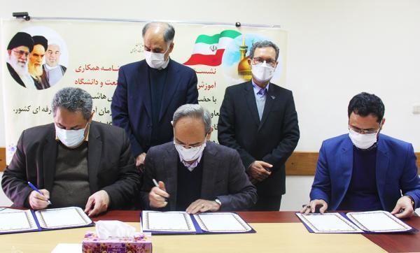 تفاهم نامه همکاری بین دانشگاه فردوسی و سازمان آموزش فنی و حرفه ای منقعد شد خبرنگاران