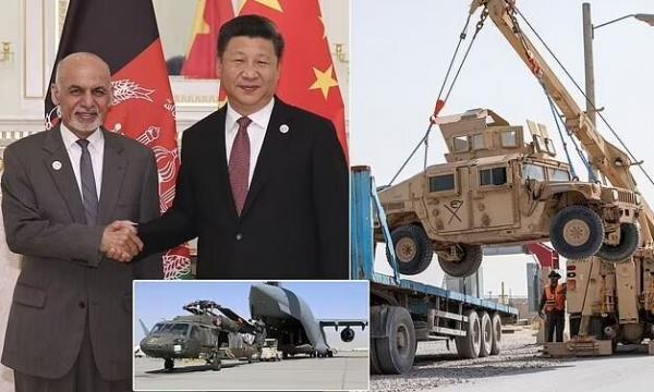 چین،جای آمریکا را در افغانستان می گیرد؟