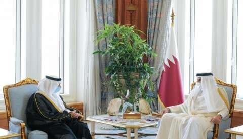 امیر قطر استوارنامه اولین سفیر عربستان را پس از آشتی دریافت کرد