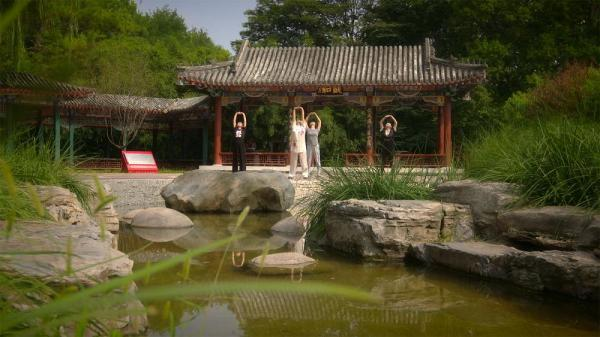 آسایش جسم و آرامش روح با تمرین های بادوانجین در پکن